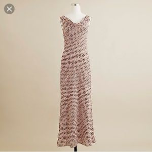 Jcrew Cascade Dress